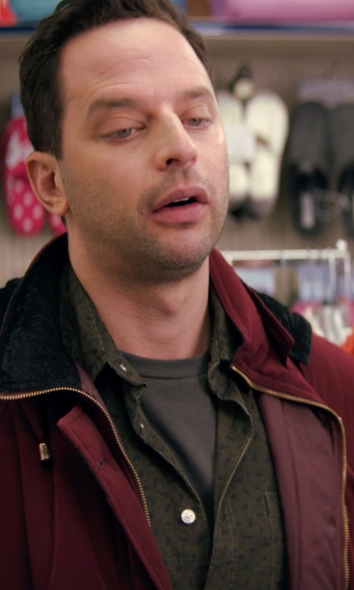 Nick Kroll with Hawke & Co. Outfitter Fleece-Lined Performance Parka Jacket in Adult Beginners