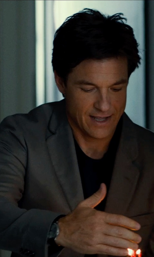 Jason Bateman with J.Crew Slim-Fit Woven Linen and Cotton-Blend Suit jacket in This Is Where I Leave You