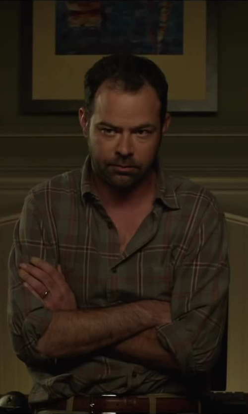 Rory Cochrane with Torino Leather Co. Big and Tall 30MM Antigua Leather in Oculus