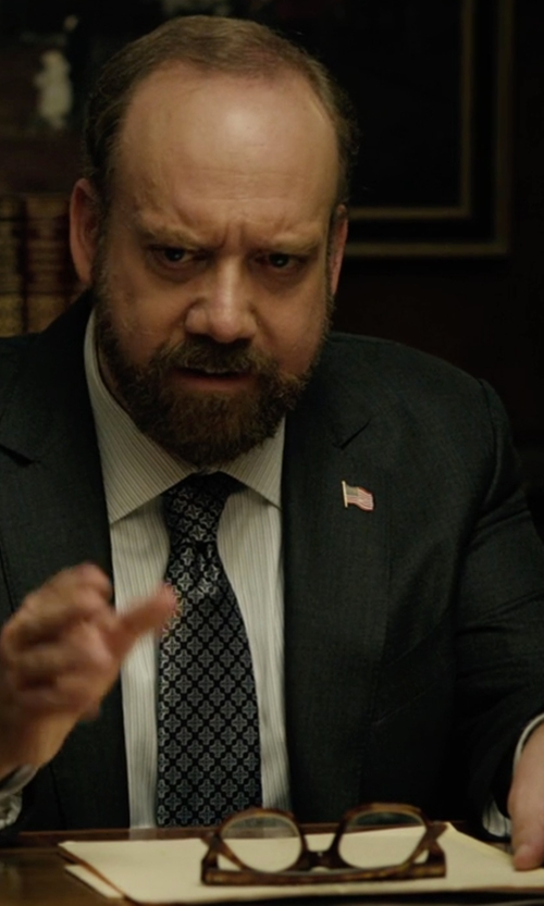 Paul Giamatti with Persol Rx Eyeglasses in Billions