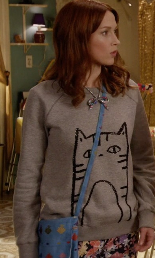 Ellie Kemper with Nine West The Spaces Between Cross-Body Bag in Unbreakable Kimmy Schmidt