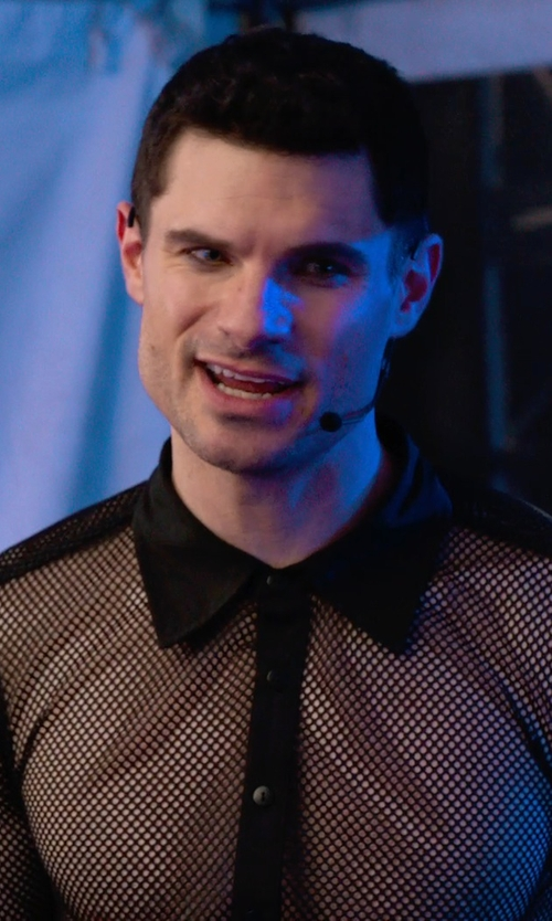 Flula Borg with YPA Headset Mic in Pitch Perfect 2