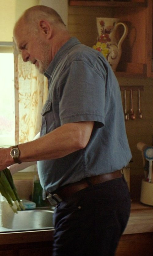 Gerald McRaney with Brian Dales Denim Pants in The Best of Me