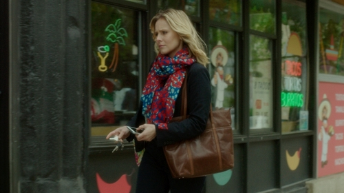 Kristen Bell with J.Crew All-Day Tote Bag in The Boss