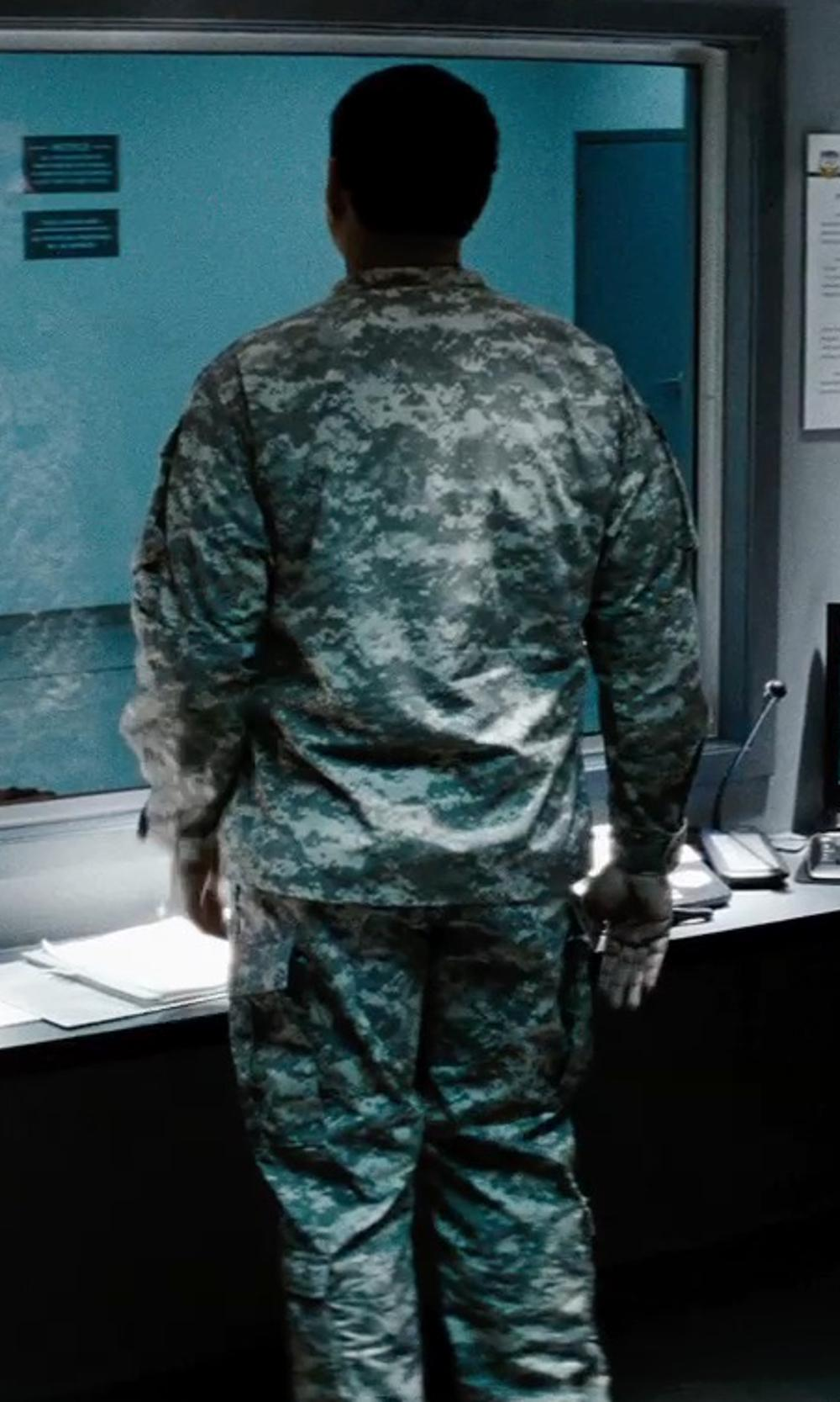 Harry Lennix with Tru-Spec ACU US Army Combat Uniform Digital Camo Nyco Ripstop BDU Pants in Man of Steel