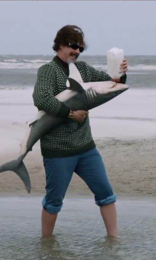Will Ferrell with Valley Vet 2 Quart Calf Nursing Bottle in Anchorman 2: The Legend Continues