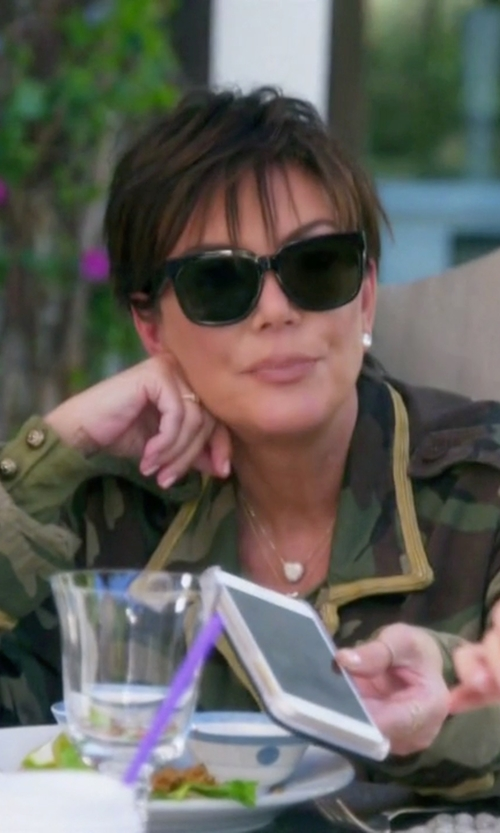 Kris Jenner with Oliver Peoples Brinley Square Sunglasses in Keeping Up With The Kardashians