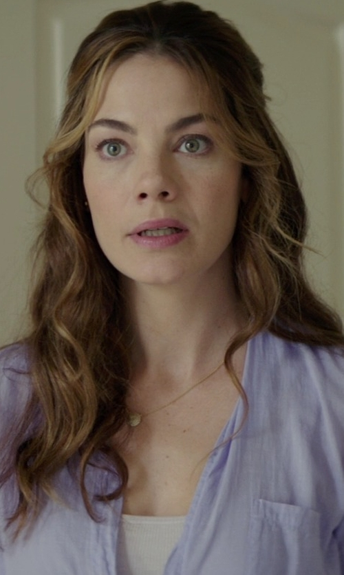 Michelle Monaghan with ATM Anthony Thomas Melillo Sweatheart Tank Top in The Best of Me