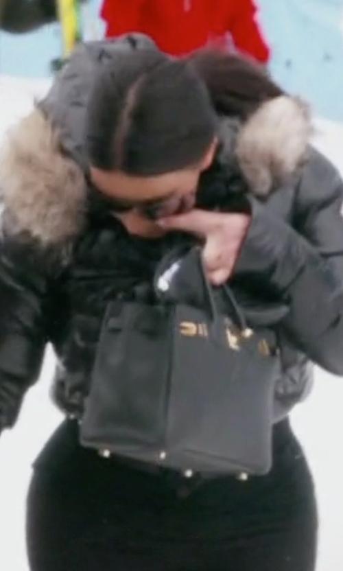 Kim Kardashian West with Hermes Birkin Handbag in Keeping Up With The Kardashians