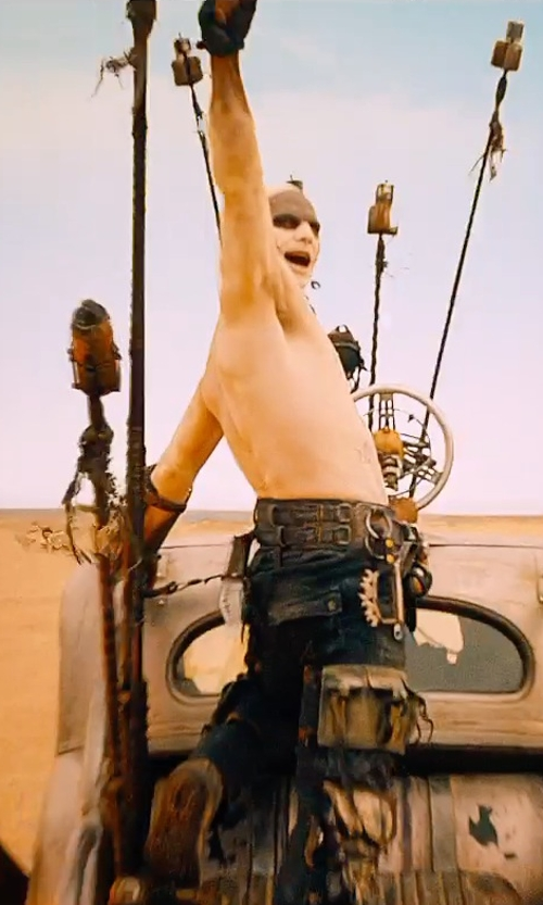 Josh Helman with Jenny Beavan (Costume Designer) Custom Made Pants (Slit) in Mad Max: Fury Road