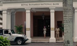 No Actor with The Ansbacher House (Depicted as Royal Bahamas National Bank) Nassau, Bahamas in The Other Woman