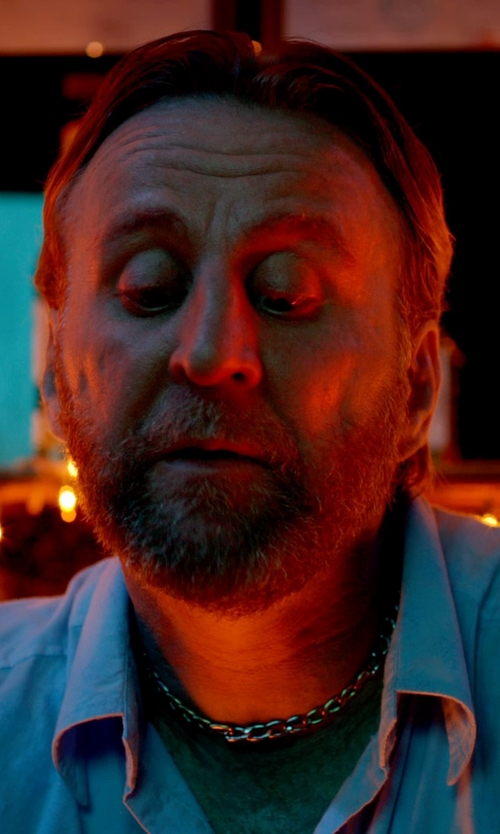 Byron Gibson with Amazon Curated Collection Wide Curb Link Necklace in Only God Forgives