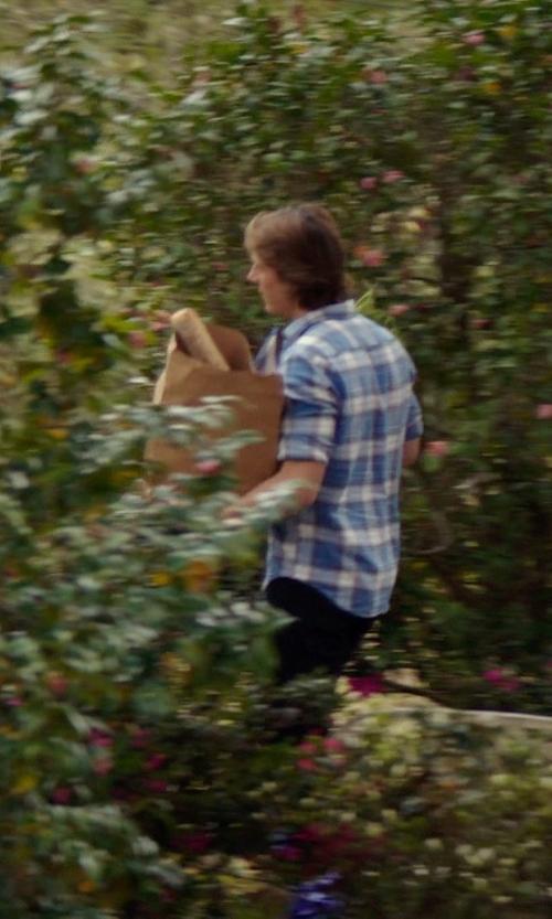 Luke Bracey with Denim & Supply Ralph Lauren Casual Pants in The Best of Me