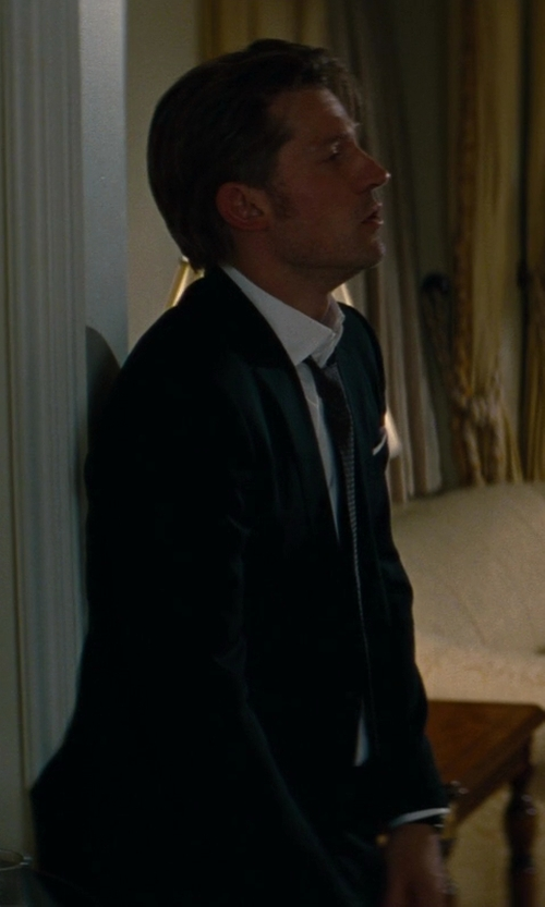 Nikolaj Coster-Waldau with Tom Ford Made To Measure Wool Suit in The Other Woman