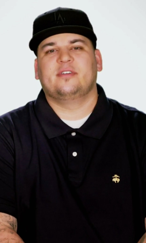Rob Kardashian with Brook Brothers Golden Fleece Original Fit Performance Polo Shirt in Keeping Up With The Kardashians