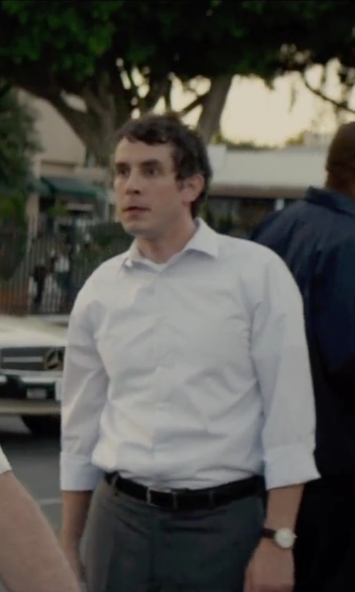 Tate Ellington with Sekonda Brown Strap Watch in Straight Outta Compton