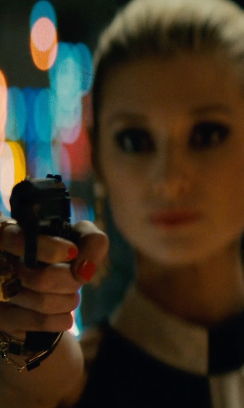 Elizabeth Debicki with Tara Pearls White Ring in The Man from U.N.C.L.E.