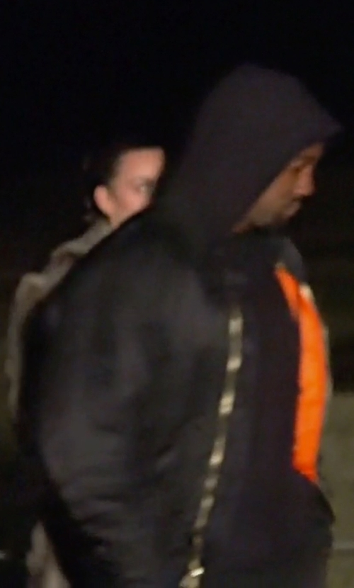 Kanye West with Alpha Industries MA-1 Flight Jacket in Keeping Up With The Kardashians