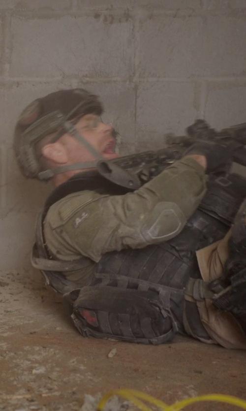 Max Martini with galaxyarmynavy Olive Drab - Military Style Base Jump Airsoft Helmet in Sabotage