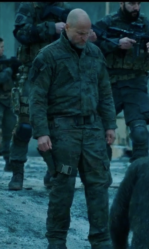 Woody Harrelson with Tru-Spec Tactical Response Shirt in War for the Planet of the Apes