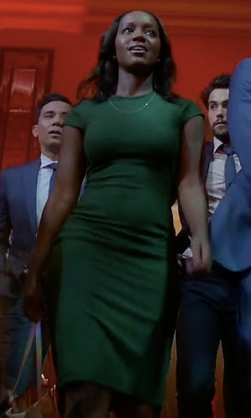 Aja Naomi King with Likely Manhattan Dress in How To Get Away With Murder