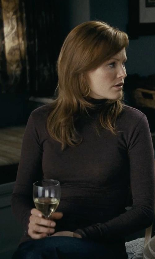 Malin Akerman with Frame Denim 'Le Skinny De Jeanne' Jean in Couple's Retreat