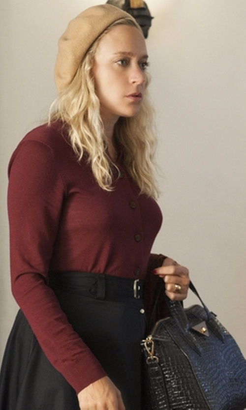 Chloë Sevigny with Parker Black Luisa Skirt in American Horror Story