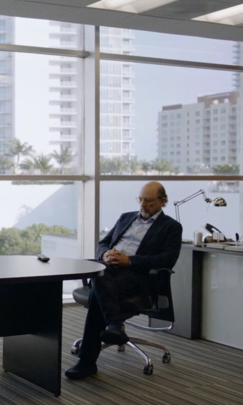 Richard Schiff with Geox 'Simon W2' Venetian Loafers in Ballers