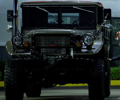 Aaron Paul with Dodge 1958 M37 Military Truck in Need for Speed