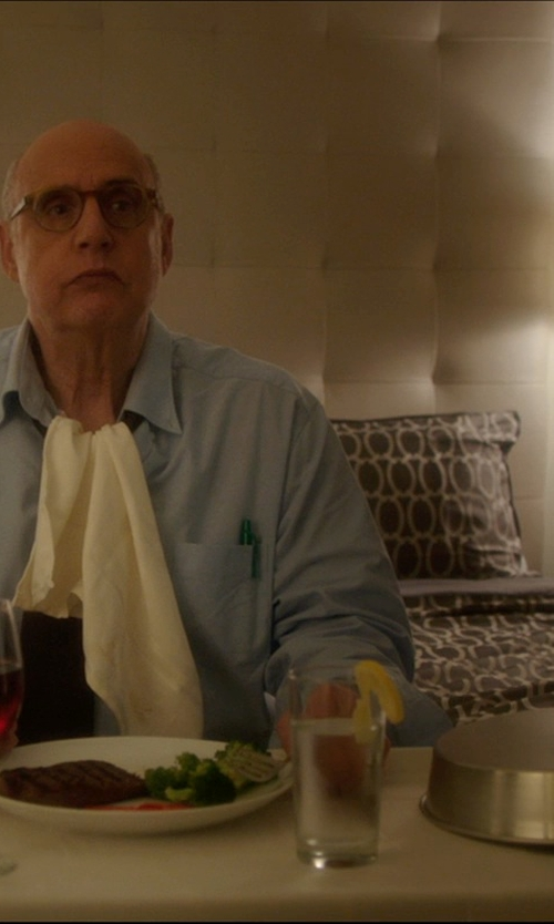 Jeffrey Tambor with Nordic Ware Indoor/Outdoor Cheese Melting Dome Plate Cover in The D Train