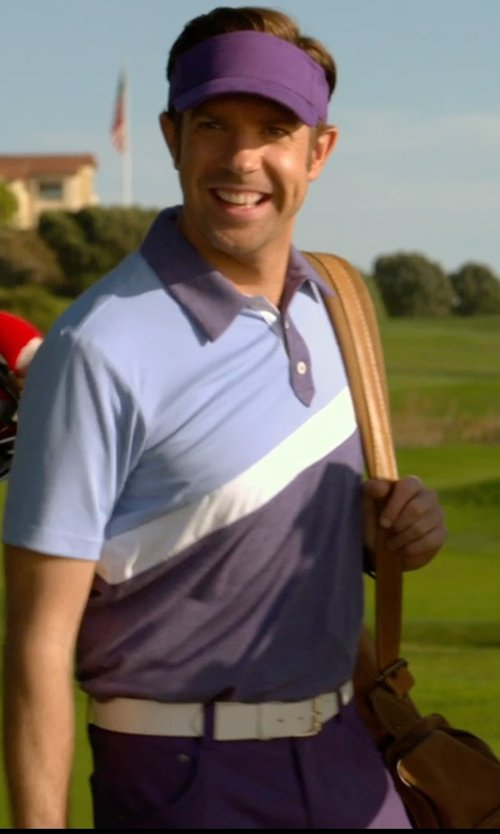 Jason Sudeikis with Adidas Golf Climalite Pants in Horrible Bosses 2