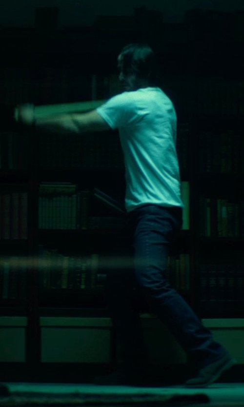 No Actor with J Brand Kane Slim Straight Jeans in John Wick