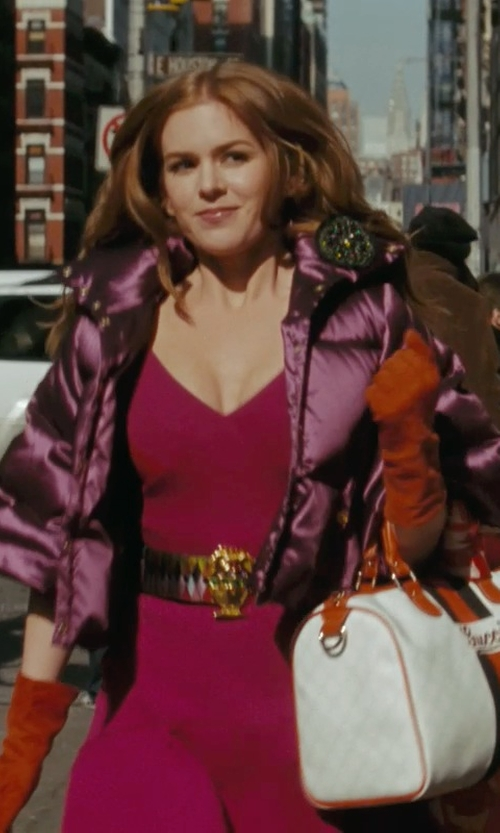 Isla Fisher with 313 Tre Uno Tre Down Jacket in Confessions of a Shopaholic