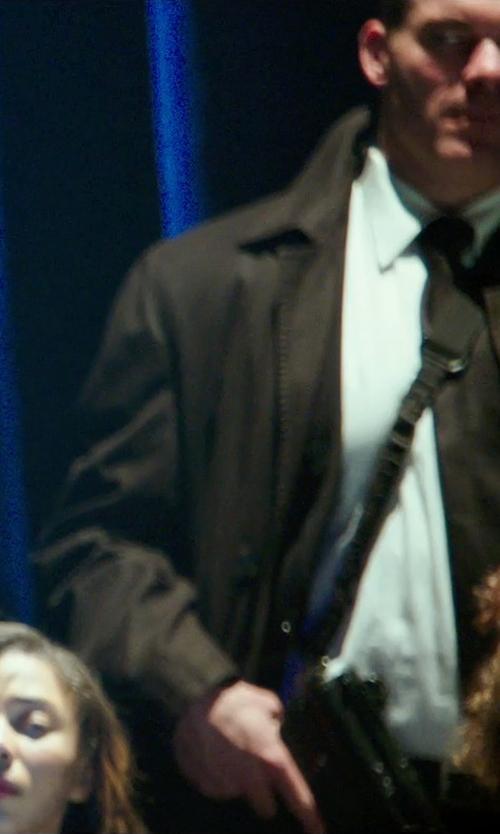 Brandon Keener with John Varvatos Star USA Red Label Peak Lapel Blazer in The Purge: Anarchy