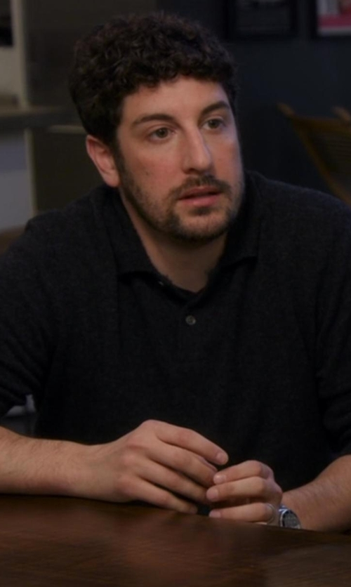Jason Biggs with Fossil Q Grant Chronograph Smartwatch in Chelsea