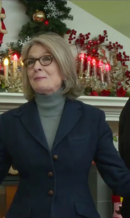 Diane Keaton with Double RL and CO Ralph Lauren Blazer in Love the Coopers