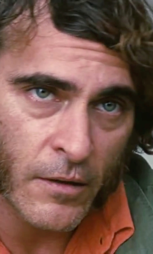 Joaquin Phoenix with Ralph Lauren Slim-Fit Stretch Oxford Shirt in Inherent Vice