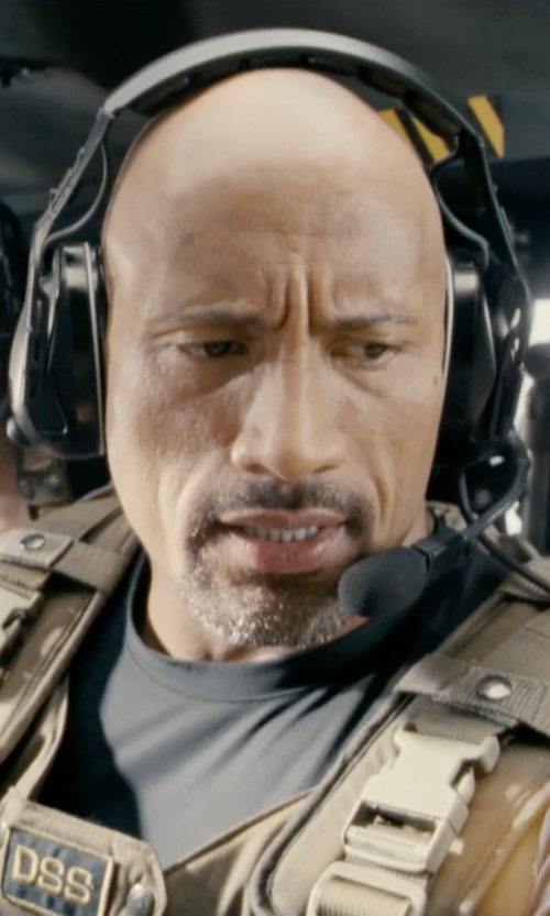 Dwayne Johnson with Wasing Six Pocket Tactical SWAT Vest in Fast & Furious 6