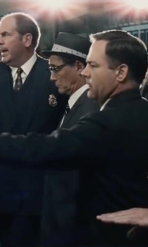 Mark Rylance with Original Penguin Men's Ike Twill Fedora with Band in Bridge of Spies