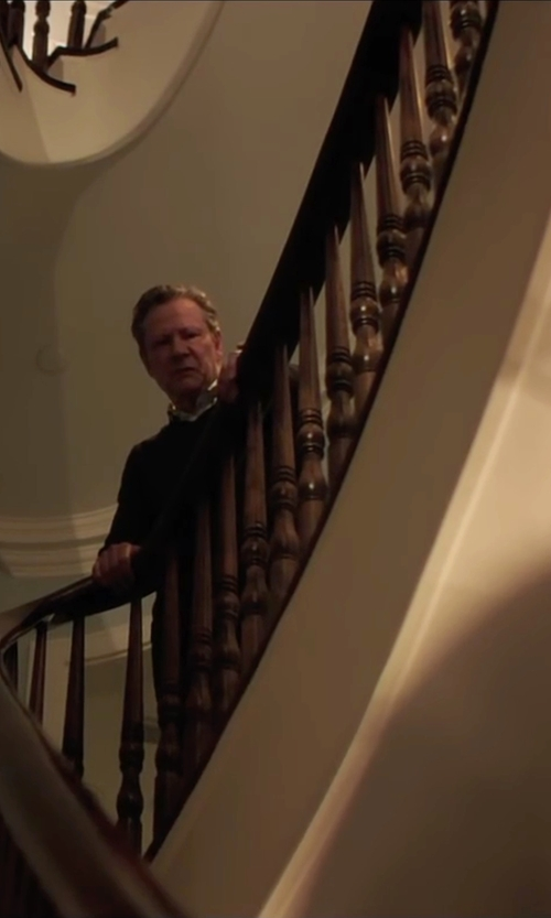 Chris Cooper with Lanvin Crew Neck Sweater in Demolition