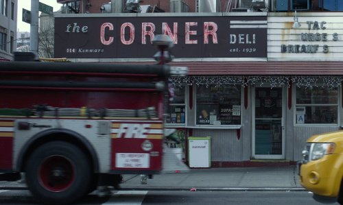 Unknown Actor with Corner Deli New York City, New York in That Awkward Moment