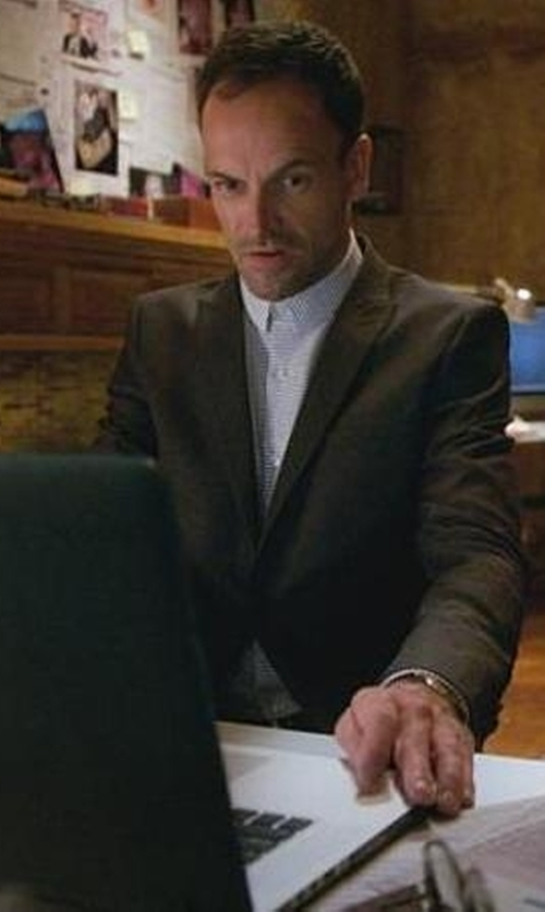 Jonny Lee Miller with Theory Cashmere-Blend Sport Coat in Elementary