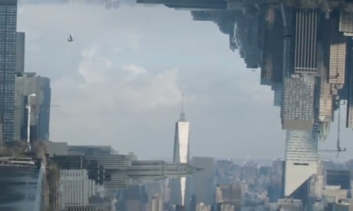 Unknown Actor with One World Trade Center New York City, New York in Doctor Strange