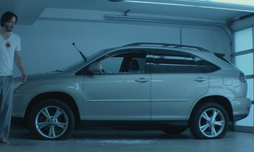 Keanu Reeves with Lexus 2007 RX 350 SUV in John Wick