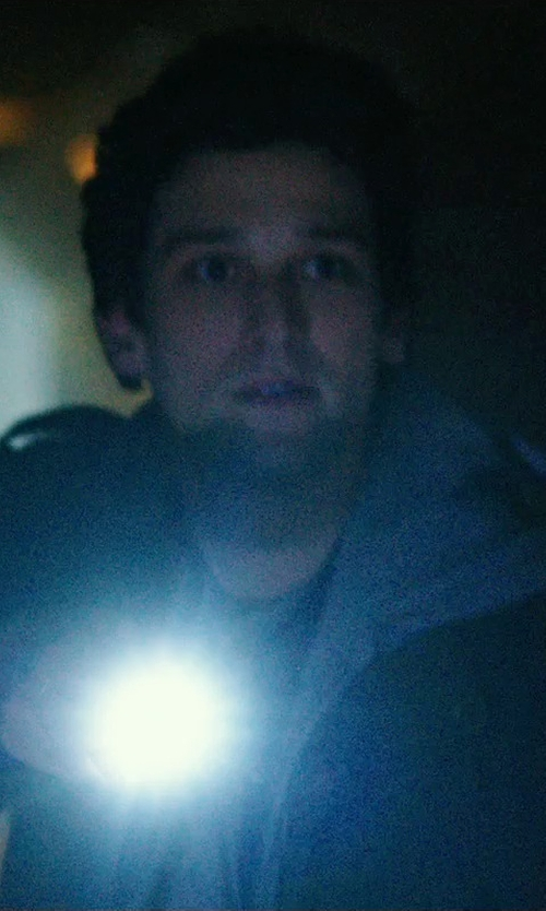 Daren Kagasoff with Helotex G2 Tactical Flashlight in Ouija