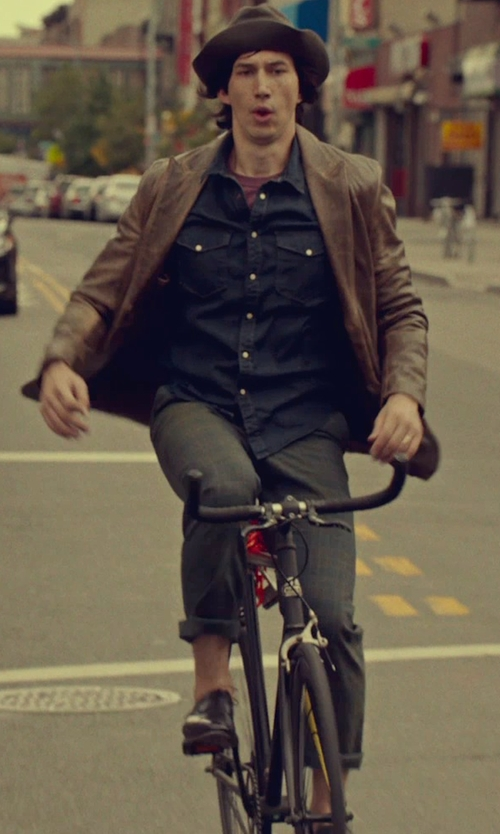 Adam Driver with Vilano Aluminum Road Bike in While We're Young