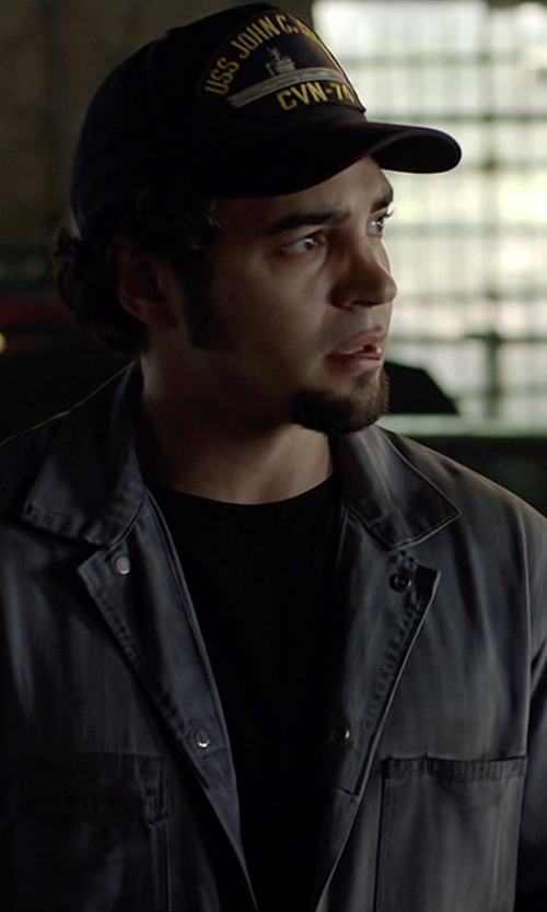 Ramon Rodriguez with Spiffy USS John C. Stennis CVN-74 Baseball Cap in Need for Speed