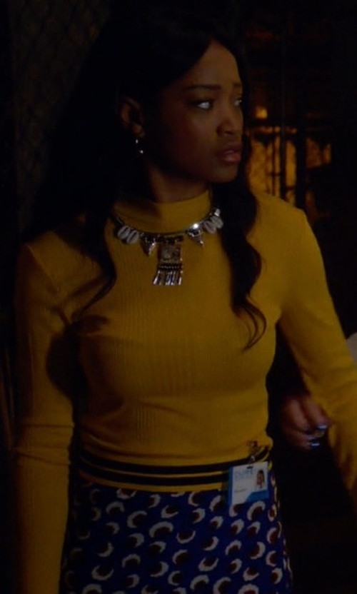 Keke Palmer with Stella McCartney Blossom Dress (Altered) in Scream Queens