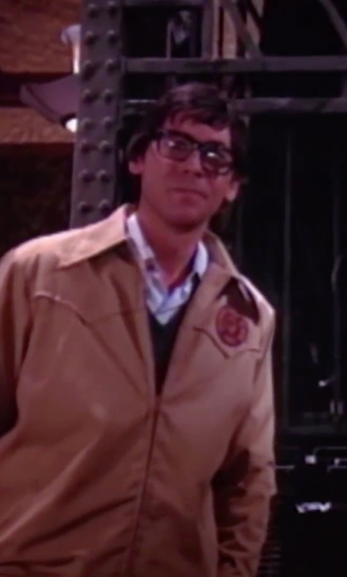 Barry Bostwick with Dockers Men's Micro-Twill Classic Zip-Front Jacket in The Rocky Horror Picture Show