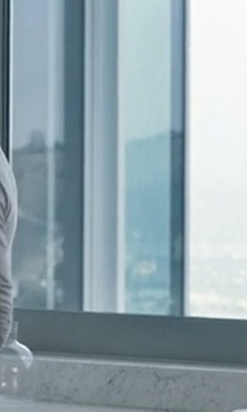 Ryan Gosling with Robert Barakett Horace Long Sleeve Cotton Henley Shirt in Crazy, Stupid, Love.
